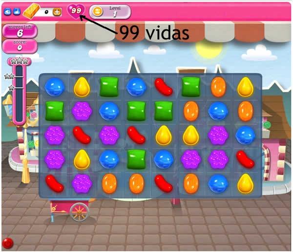 trucos de candy crush obtener vidad infinitas y boosters 99 vidas