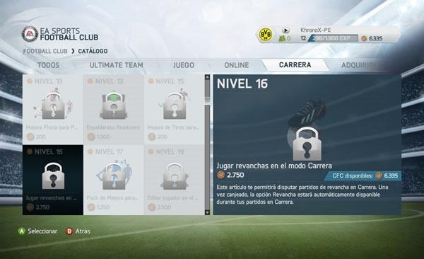 FIFA 14 como desbloquear opcion reiniciar partido o jugar revanchas
