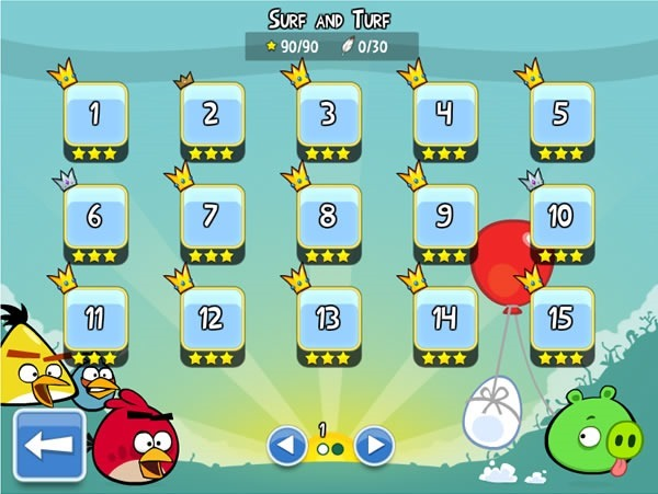 angry-birds-facebook-obtener-tres-estrellas-surf-and-turf