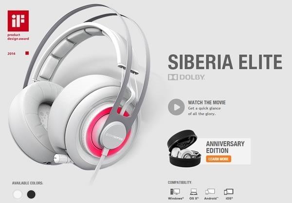 10 mejores audifonos para gamers - steelseries siberia elite