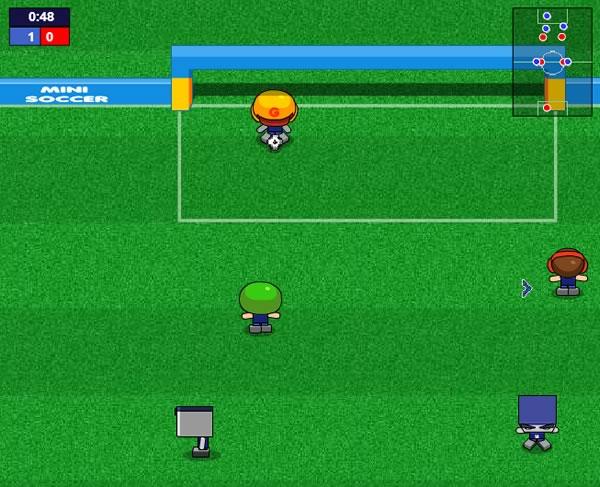 10 mejores juegos de futbol online gratis - mini soccer