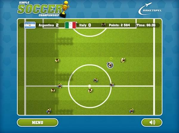 10 mejores juegos de futbol online gratis - simple soccer championship