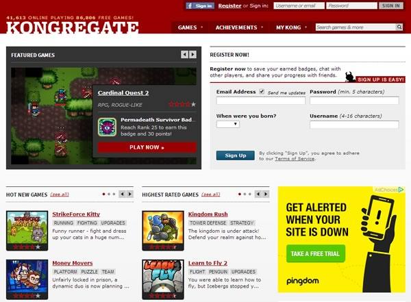kongregate - juegos online gratis