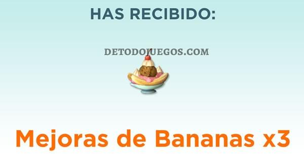 nuevos codigos minion rush v2 - mejora de bananas x 3