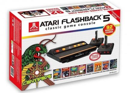 atari flashback 5 retro game console