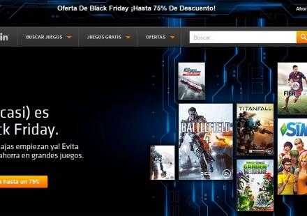 ofertas black friday 2014 videojuegos para pc de origin