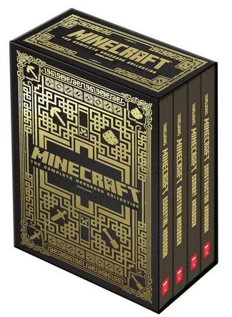coleccion completa de manuales de minecraft