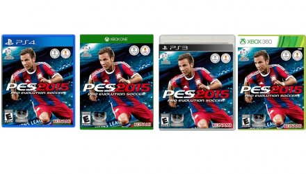 pes 2015 ps4 ps3 xbox one xbox 360 pc
