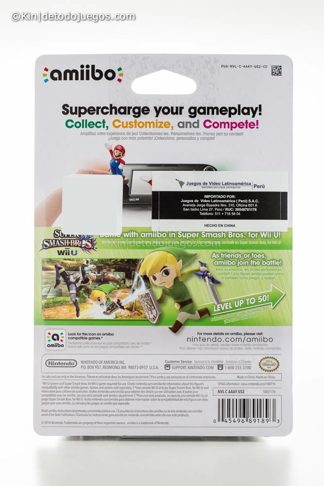review amiibo toon link-9524