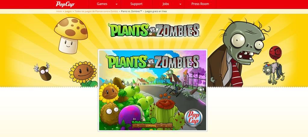 Juego Online Para Pc De Plants Vs Zombies Gratis