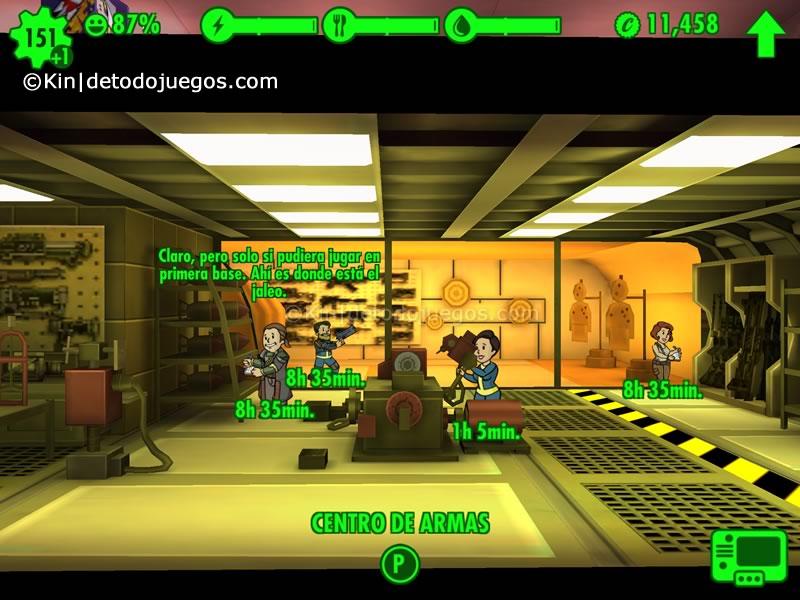 10 trucos y tips para fallout  shelter - sala de entrenamiento