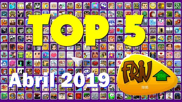 TOP 5 Mejores Juegos FRIV | Abril 2019